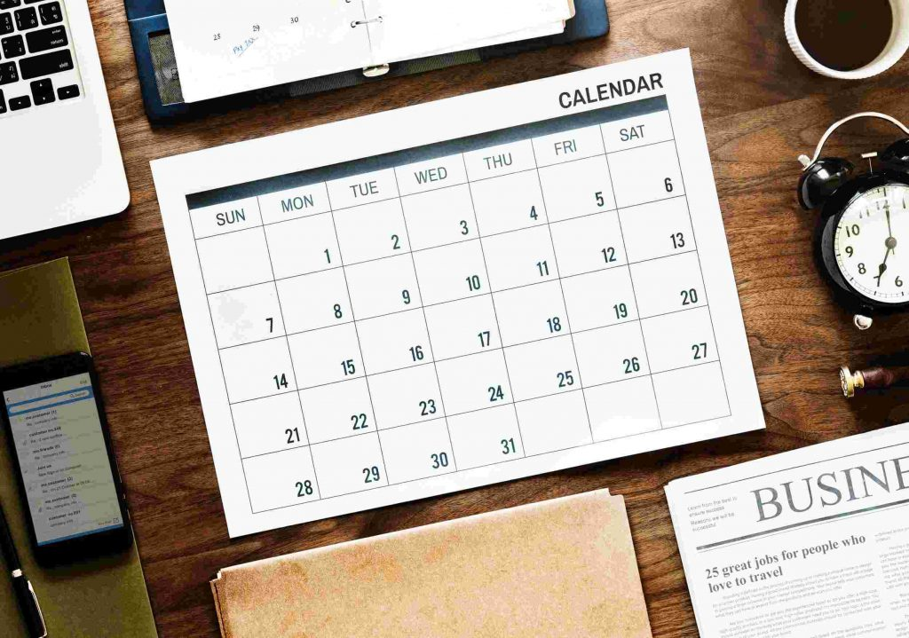 Sales Diary- Monthly planner