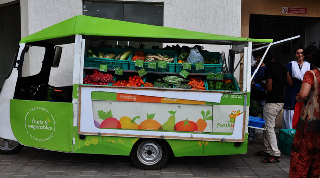 Sales Diary- Van Sales- Fresh Produce
